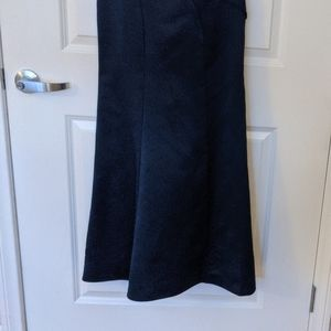 White by Vera Wang Dresses - Vera Wang Asymmetrical Gown, navy blue - Size 0